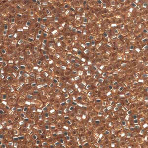 Preciosa 11/0 Rocaille Seed Beads - SB11-08288 - Champagne Silver Lined