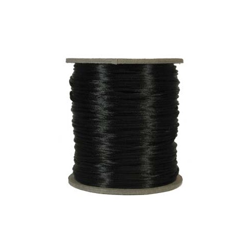 1mm Black Rattail Cord