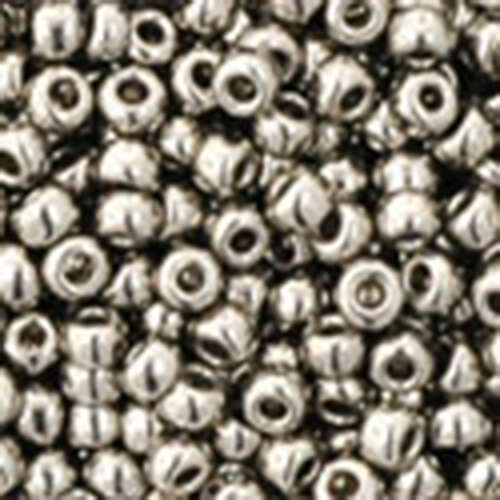 11/0 - Nickel - Round Seed Bead - TR-11-711